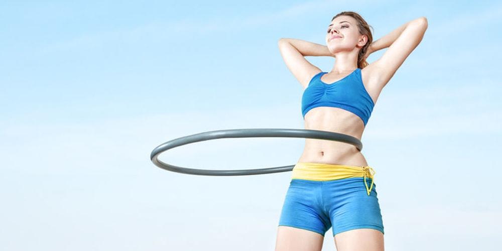 Hula Hoop Reifen Abnehmen Test