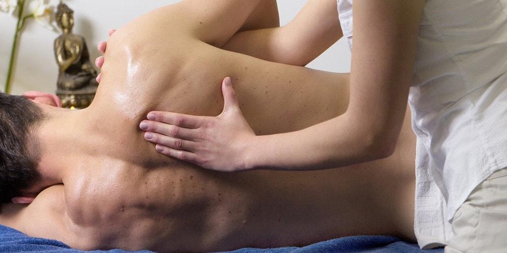 Massage nach dem Sport