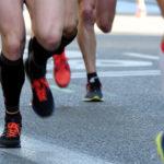 Kompressionsstrümpfe beim Laufen